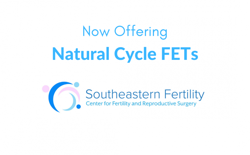 We're Now Doing Natural Cycle FETs!